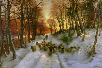 Glowed with Tints of Evening Hours Premium Giclee Print by Joseph Farquharson