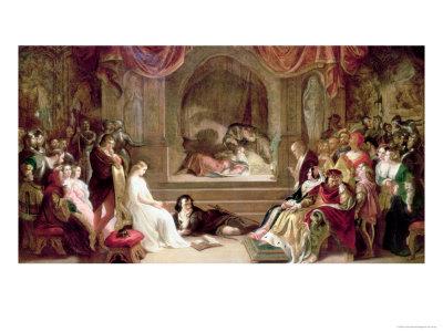 Hamlet Giclee Print by Daniel Maclise