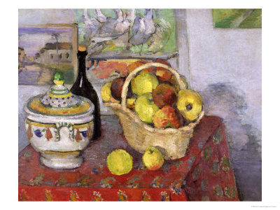 Still Life with Tureen, circa 1877 Giclee Print