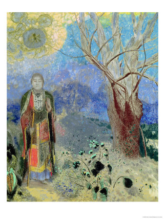 The Buddha, circa 1905 Premium Giclee Print by Odilon Redon