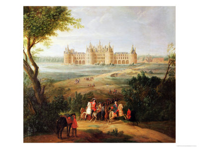 The Chateau de Chambord, 1722 Premium Giclee Print by Pierre-Denis Martin