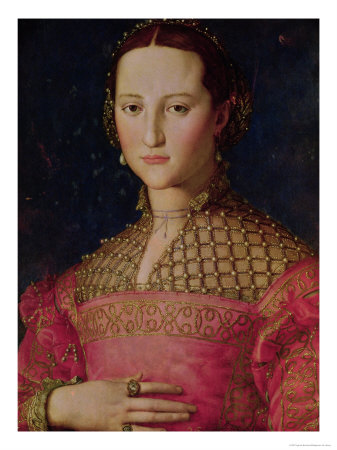 Eleonora Da Toledo Giclee Print by Agnolo Bronzino