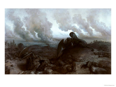 The Enigma, 1871 Premium Giclee Print by Gustave Doré