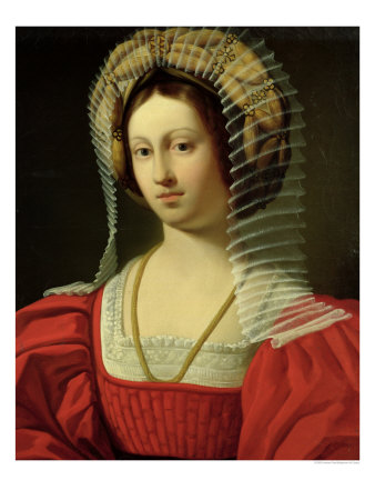 Giovanna I Queen of Naples, 1842 Giclee Print by Amedee Gras