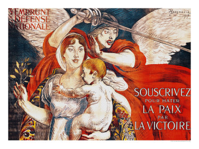 Subscribe to Hasten Peace by Victory, Poster for the Third Loan of the National Defence, 1917 Giclee Print by Albert Besnard