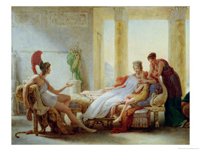 Aeneas Telling Dido of the Disaster at Troy, 1815 Premium Giclee Print by Pierre Narcisse Guérin