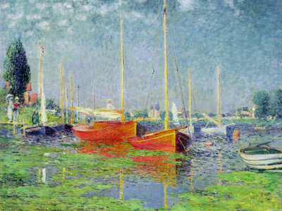 Argenteuil, circa 1872-5 Premium Giclee Print by Claude Monet