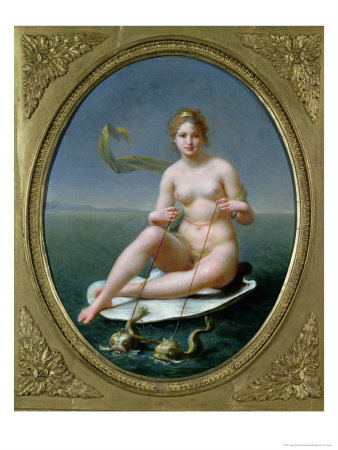 The Triumph of Amphitrite Giclee Print by Jean-Baptiste Regnault