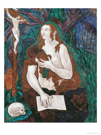 St. Mary Magdalene, Limousin Workshop Premium Giclee Print by Nardon Penicaud
