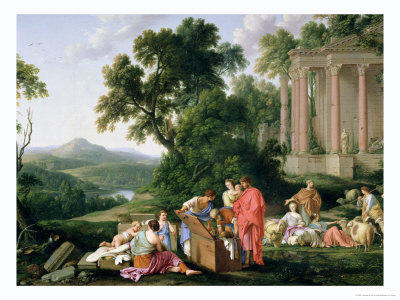 Laban Searching for the Idols, 1647 Premium Giclee Print by Laurent de La Hyre