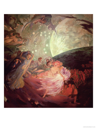 Truth, Leading the Sciences, Giving Light to Man, 1891 Premium Giclee Print by Albert Besnard