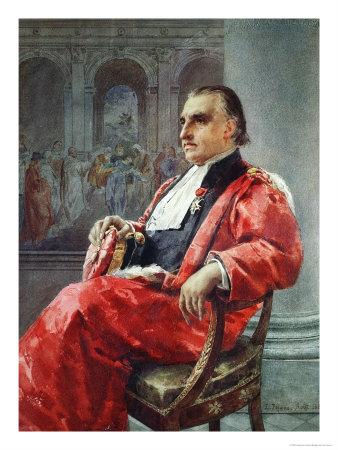 Jean-Martin Charcot August 1881 Giclee Print by Eduardo Tofano
