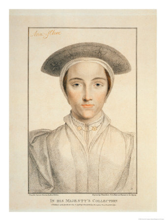 Portrait of Queen Anne of Cleves Published 1796 Premium Giclee Print by Hans Holbein the Younger