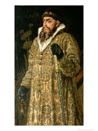 "Tsar Ivan IV Vasilyevich ""The Terrible"" 1897 Premium Giclee Print by Victor Mikhailovich Vasnetsov"