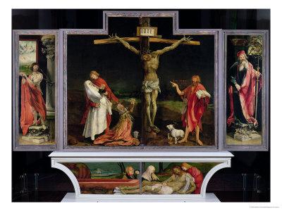 The Isenheim Altarpiece, circa 1512-15 Giclee Print by Matthias Grünewald