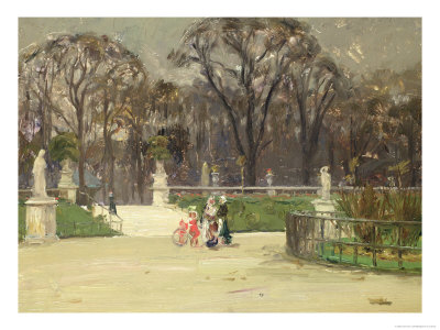 In the Tuileries Giclee Print