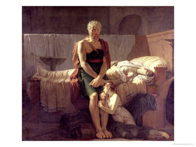 The Return of Marcus Sextus, 1799 Premium Giclee Print by Pierre Narcisse Guérin