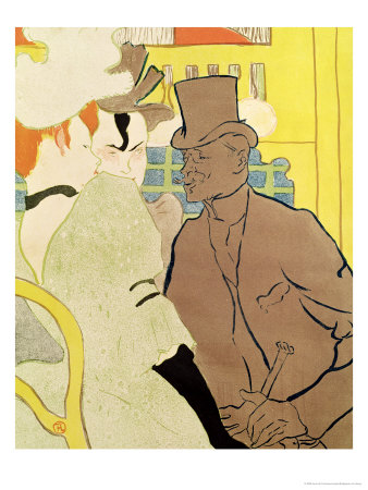 Toulouse Lautrec Moulin Rouge. The Englishman at the Moulin