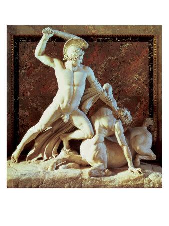 Theseus Slaying a Centaur Giclee Print by Antonio Canova