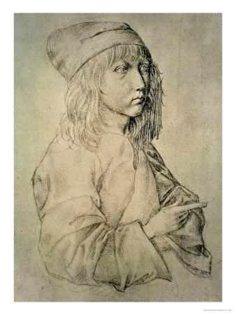 Self Portrait at the Age of Thirteen, 1484 Premium Giclee Print by Albrecht Dürer