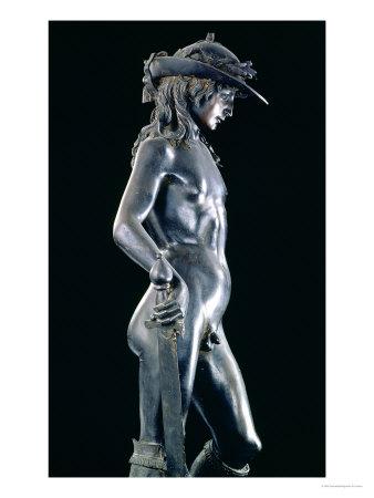 David, circa 1440 Premium Giclee Print by  Donatello