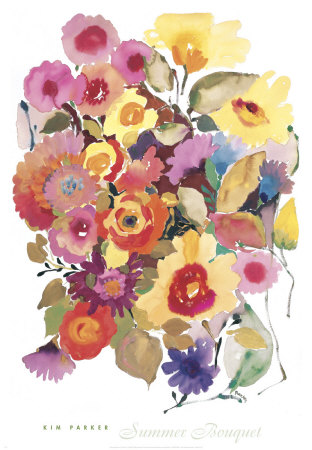 Summer Bouquet Art Print
