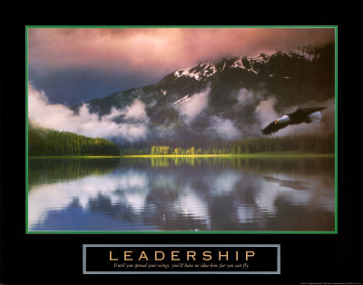 Leadership: Eagle Art Print