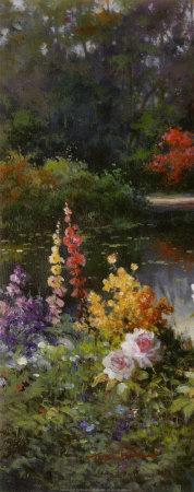 Summer Garden Prints by T. C. Chiu