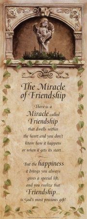 Miracles of Friendship Prints by T. C. Chiu