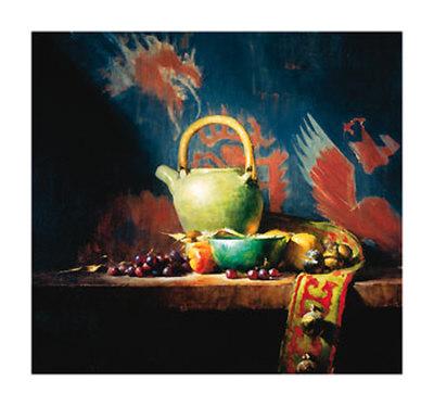 Teapotbowls and Bells Print by David Reidel