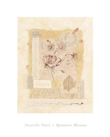 Romance Blooms II Kunsttryk