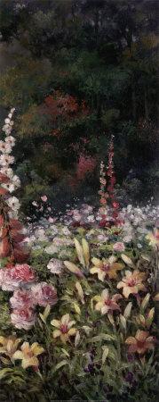 Summer Garden Poster by T. C. Chiu