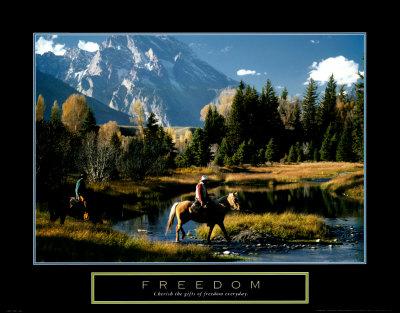 Freedom: Cowboys Prints