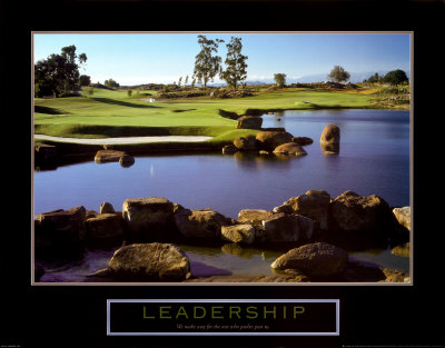 Leadership: Golf Prints