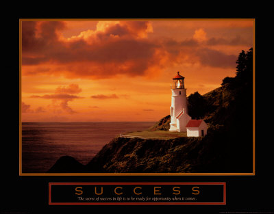 Success: Lighthouse Lámina