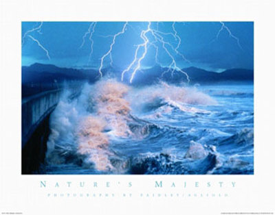 Nature's Majesty, Waves Art by Warren Faidley
