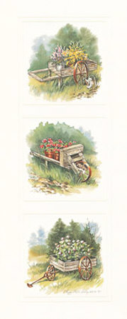 Antique Wagon Prints by Peggy Thatch Sibley