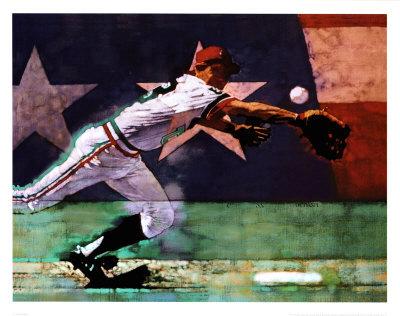 Olympic Baseball Prints by Michael Dudash