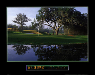 Achievement: Golf Posters
