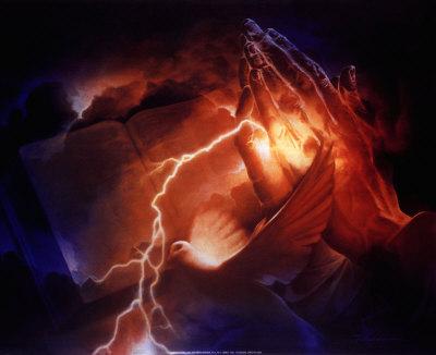 Power of Prayer Art by Danny Hahlbohm