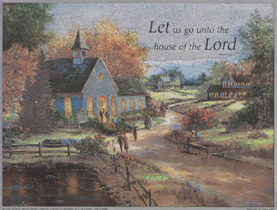 House of the Lord Posters by T. C. Chiu