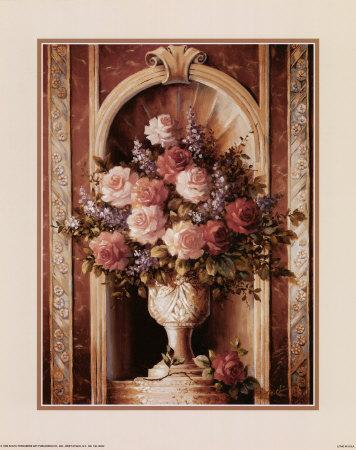 Classical Rose Still Life Prints by T. C. Chiu