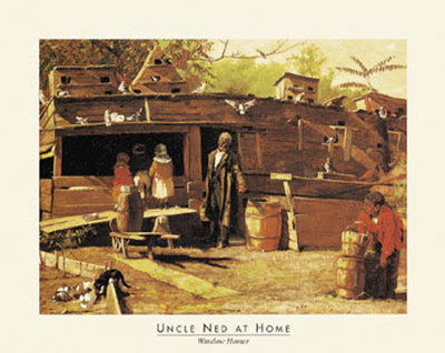Uncle Ned at Home Prints by Winslow Homer