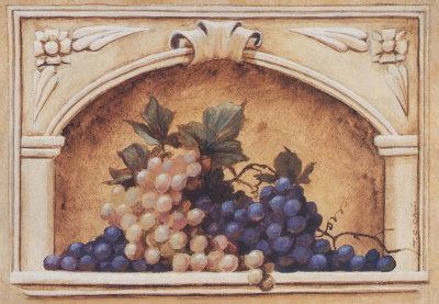 Grapes Prints by T. C. Chiu