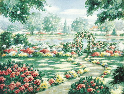 Trellis by the Lake Posters by Carol Ann Curran