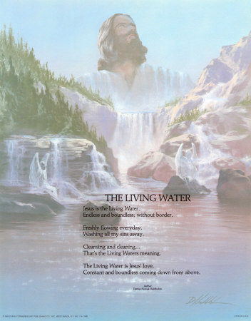 The Living Water Prints by Danny Hahlbohm