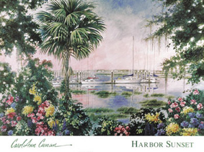 Harbor Sunset Prints by Carol Ann Curran