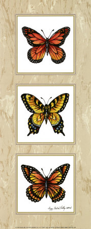 Monarch Butterflies Poster by Peggy Thatch Sibley