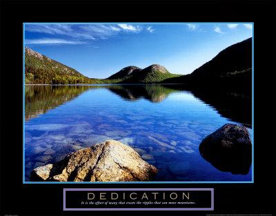 Dedication: Jordan Pond Prints by Dermot Conlan