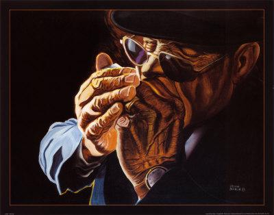 Blowin Blues Prints by Steven Johnson